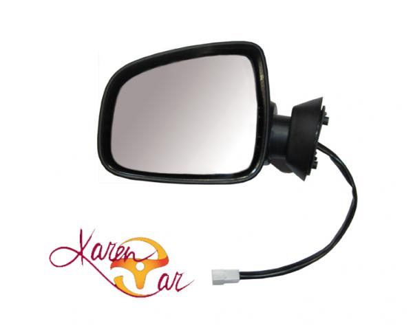 آینه بغل پرستیژ برقی با قاب رنگی سفید جفت رنو ال 90  (L90)
