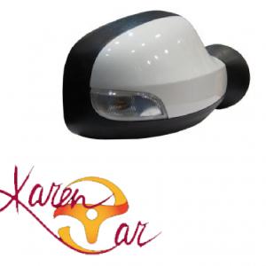 آینه بغل برقی نقره ای راهنما دار چپ و راست رنو  duster