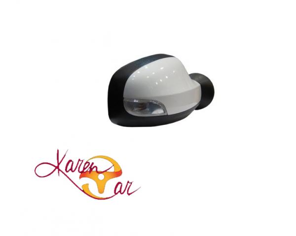 آینه بغل برقی سفید راهنما دار چپ و راست رنو  duster