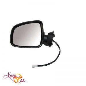 آینه بغل پرستیژ برقی با قاب رنگی نقره ای جفت رنو استپ وی  ال ۹۰  تندر ۹۰ تندر پلاس  تندر وانت  داستر  ساندرو