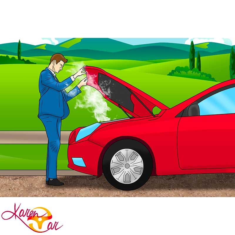 وقتی ماشین جوش آورد چرا نباید موتور را خاموش کرد ؟